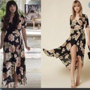 Reformation Floral Addilyn Maxi Dress